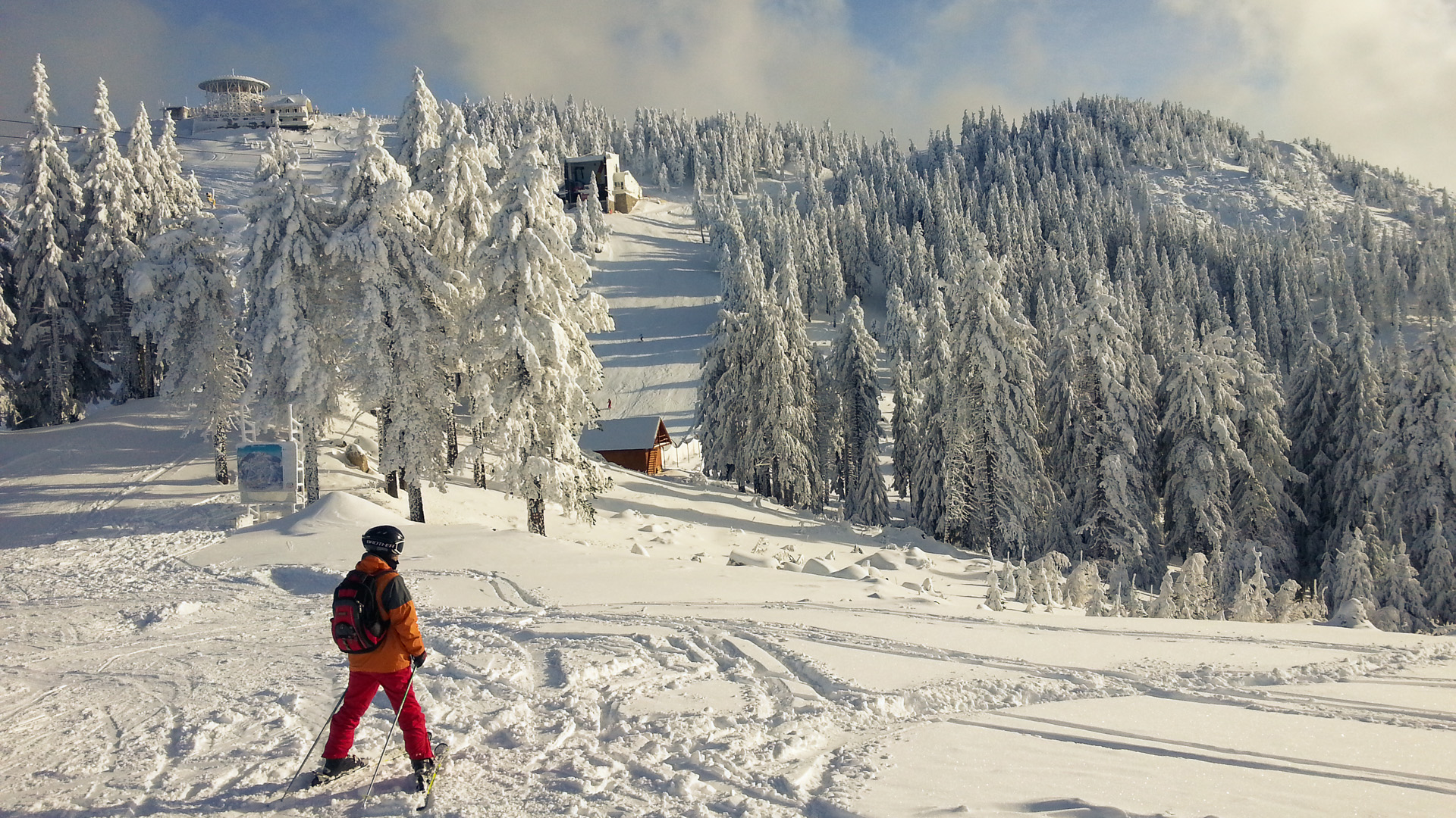 The Beautiful Slopes in Romania