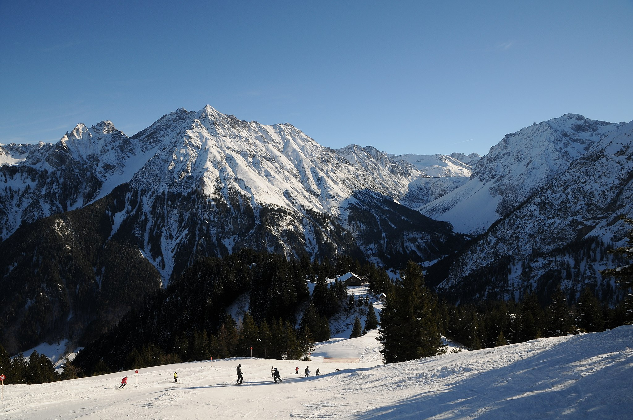 Brandnertal Ski Slopes