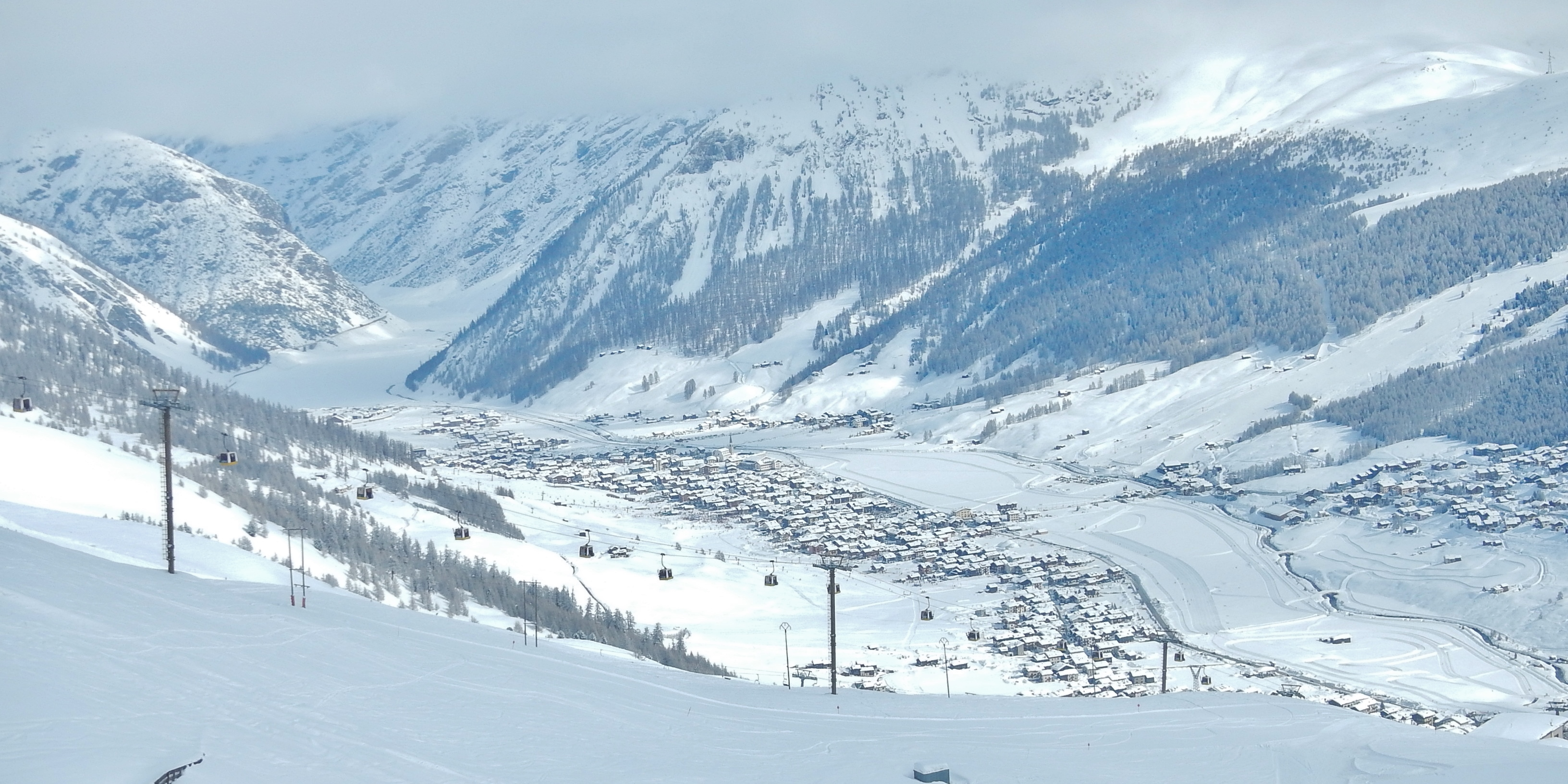 Livigno Ski Slopes