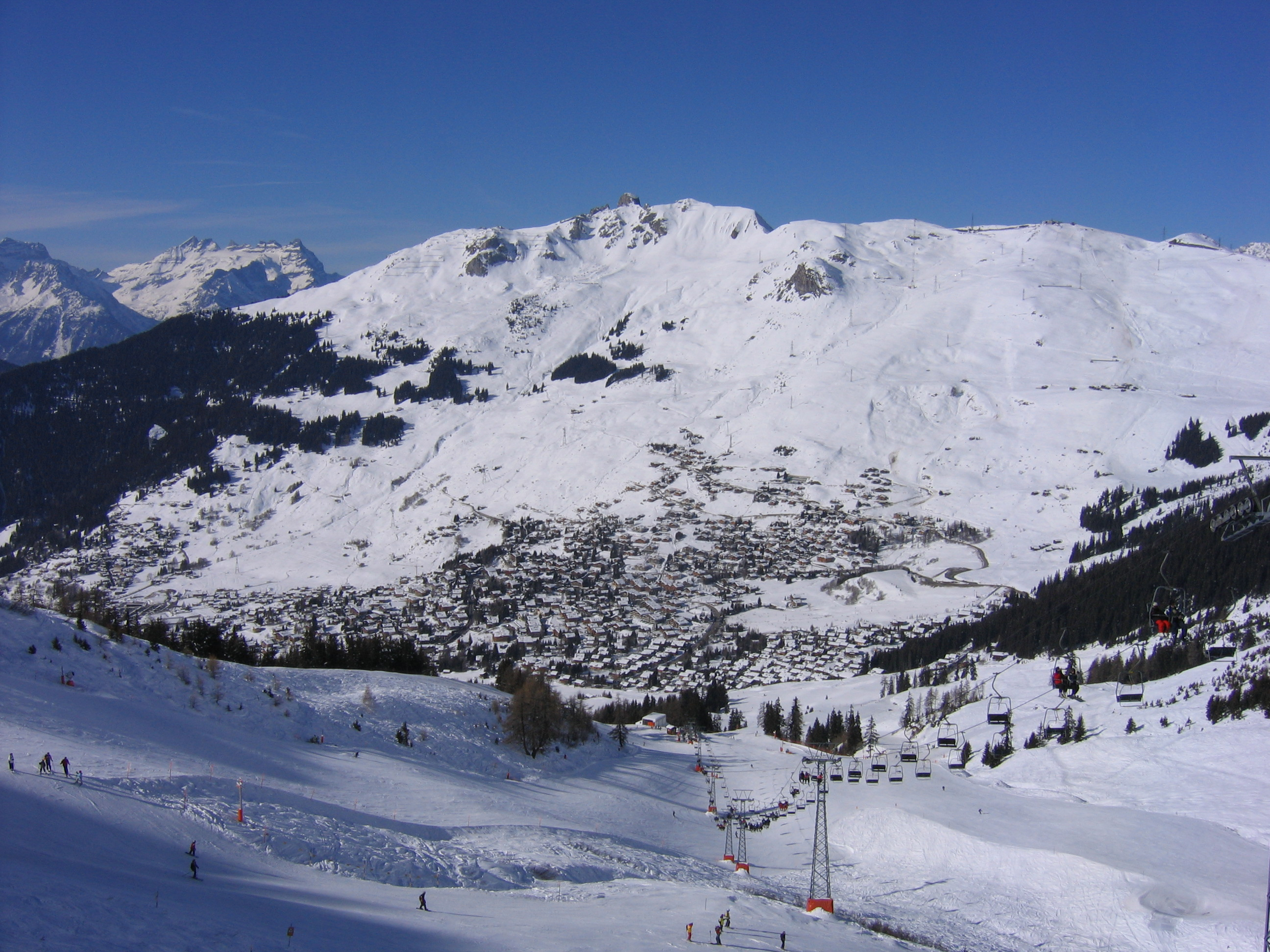 Verbier Ski Slopes
